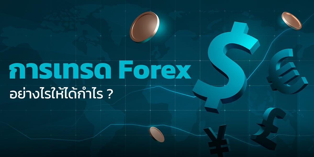 การเทรด Forex อย่างไรให้ได้กำไร ?